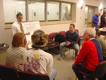 Allen Street - Public Meeting with Bergmann