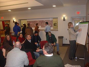 Allen Street - Public Meeting Interaction 1