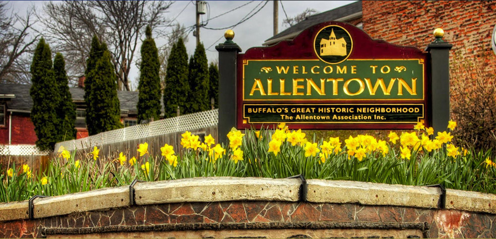 Allentown Welcome Sign