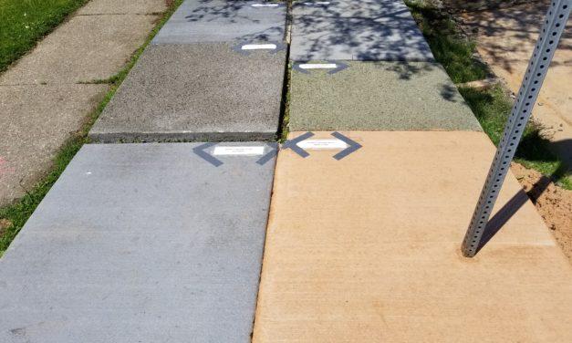 Colored Concrete Test Panel Comments (6/24/19 – 7/1/19)